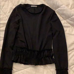 Zara collection touched top size small